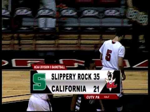 California vs Slippery Rock (M) 2015 (CUTV SPORTS FULL GAME)