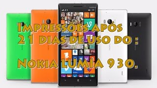Unboxing e Review (an?lise) Nokia Lumia 930 - Vale a Pena?