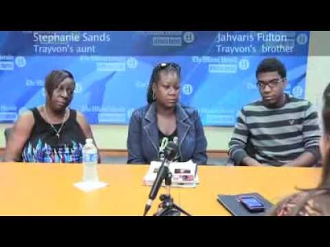 Miami Herald Interviews Trayvon Martin Family - Does NOT Ask About Chicken