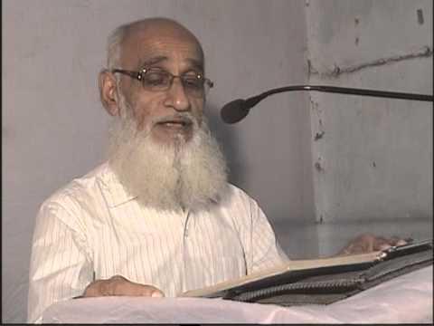 Shamim Hashimi reciting Hindi Doha