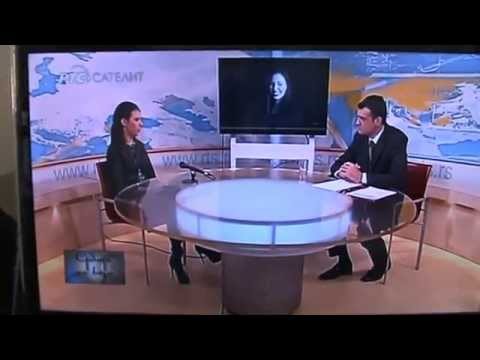 Jovana Misaljevic interview on National Serbian TV RTS, about concert in Vienna 2014