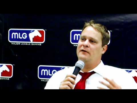 Jason Lake (Complexity Gaming founder) at MLG Anaheim 2011