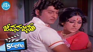 Jeevana Jyothi Movie Scenes - Shobhan Babu Fires On Vanisri || Raja Babu || Viswanath - IDREAMMOVIES