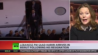 Lebanon's PM returns to Beirut after abrupt resignation while in Saudi Arabia - RUSSIATODAY