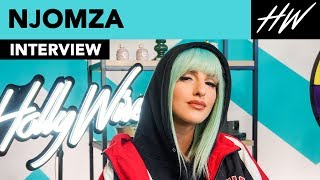 Njomza Shows Off Ariana Grande DIAMOND RING & Dishes About Their Day At Tiffany's!! | Hollywire - HOLLYWIRETV