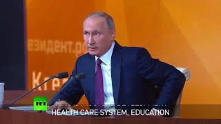 Putin outlines his vision for Russia - RUSSIATODAY