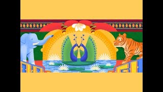 Google marks India Independence day with a doodle - TIMESOFINDIACHANNEL
