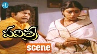 Pavitra Movie Scenes - Pavitra Marries Chandra || Rajendra Prasad, Bhanupriya - IDREAMMOVIES