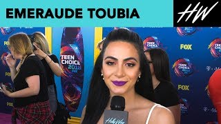Emeraude Toubia, Star Of Shadowhunters, Talks Series Ending  | Hollywire - HOLLYWIRETV