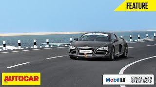 Mobil1 Presents Great Car Great Roads | Audi R8 LMX | Autocar India