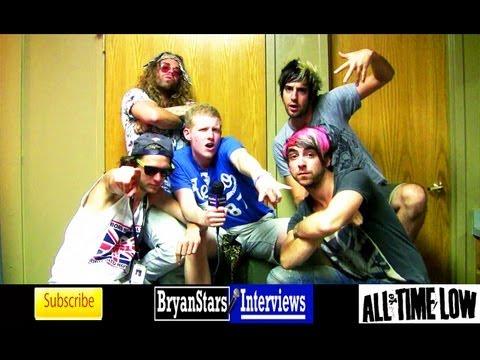 All Time Low Interview #4 Alex Gaskarth & Jack Barakat ft. MODSUN & Pat Brown Warped Tour 2012