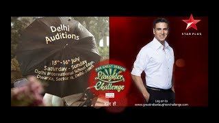 The Great Indian Laughter Challenge | Auditions in Delhi - STARPLUS