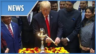 Trump mourns wildfire victims as he celebrates Diwali - THESUNNEWSPAPER