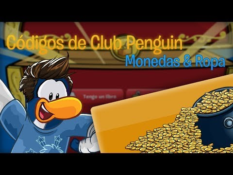 ¡Todos los Códigos de Club Penguin! Ropa, Monedas y muebles, Abril 2014