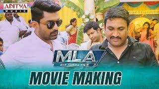 MLA Movie Making | MLA Movie | Nandamuri Kalyan Ram | Kajal Aggarwal | Upendra Madhav - ADITYAMUSIC