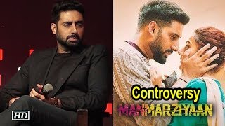 Abhishek Bachchan REACTS on 'Manmarziyaan' Controversy - IANSLIVE