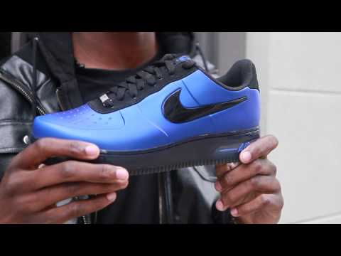 d3c5f7db899 Nike Air Force One Foamposite Pro Low - Live Look
