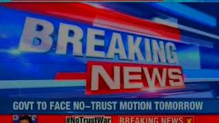 Chandra Babu Naidu writes to all MPs, asks support for no confidence motion - NEWSXLIVE