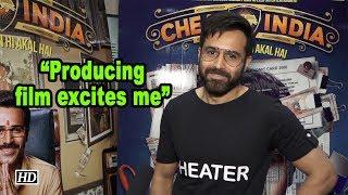 Producing film excites Emraan Hashmi - IANSLIVE