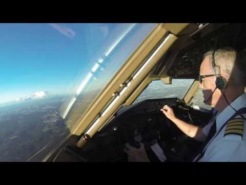 Approach and Landing in Sydney, Australia