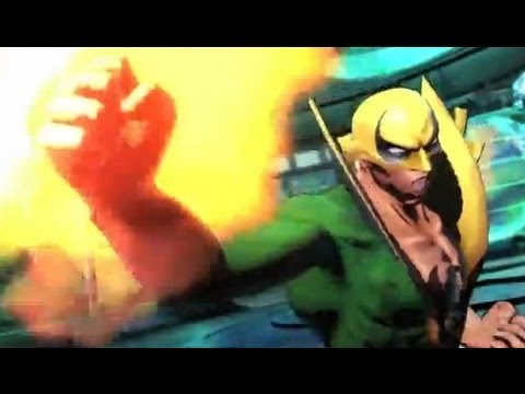 Ultimate Marvel vs Capcom 3: Iron Fist Gameplay Trailer
