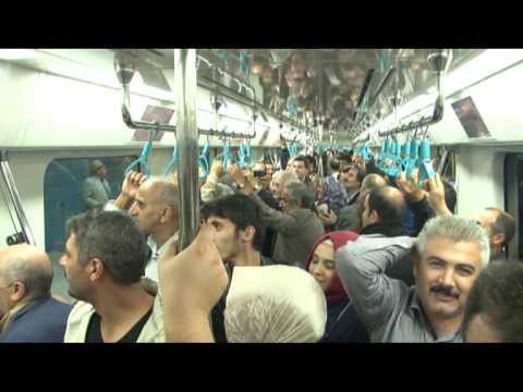 Vatandaşlar, Marmaray'dan memnun kaldı