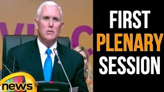 Vice President Pence Delivers Remarks at the First Plenary Session of the Summit of the Americas - MANGONEWS
