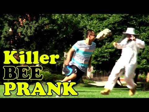 Killer Beehive Prank!!