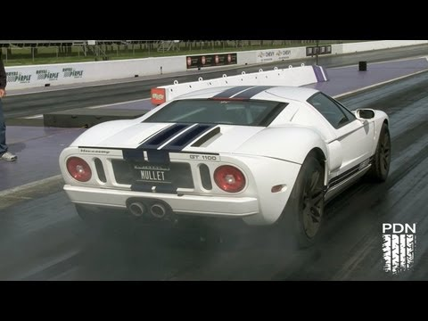 Mullet's 9-Second Twin Turbo Ford GT