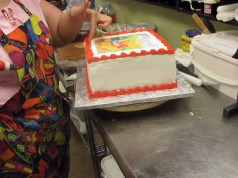 Cake Decorating Ice Cream Cake
