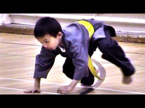 Kids Kung Fu Class Part 1