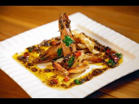 Butter Shrimp روبيان بصلصة الزبدة والاعشاب