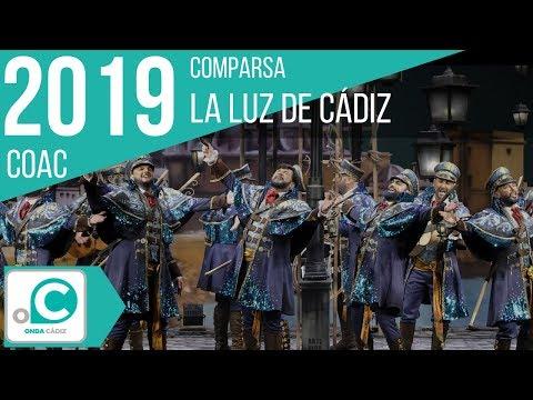 Sesión de Cuartos de final, la agrupación La luz de Cádiz actúa hoy en la modalidad de Comparsas.
