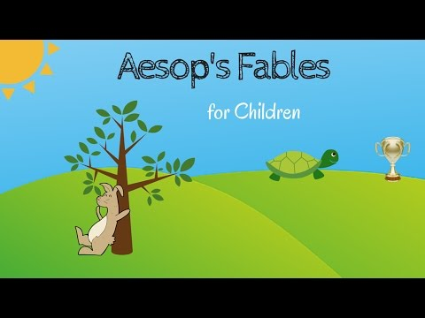 AESOP's FABLES for Children | HARE & THE TORTOISE fables and more | Fairytales for Kids