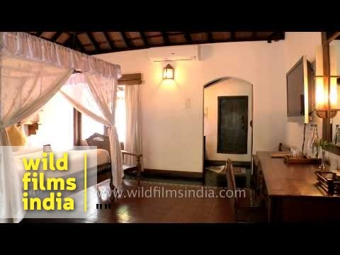 Garden view villa at Punnamada Resort, Alappuzha