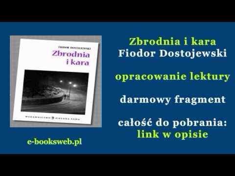 Zbrodnia i kara - Fiodor Dostojewski - opracowanie lektury - audiobook