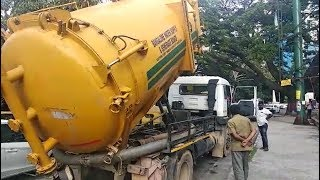 Video of BWSSB tanker releases sewage into drain goes viral, sparks uproar - TIMESOFINDIACHANNEL