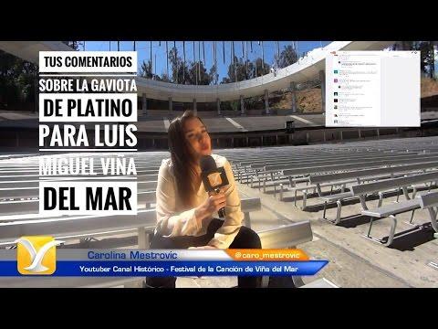 Tus comentarios sobre la Gaviota de Platino para Luis Miguel en Viña del Mar