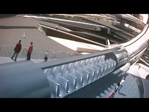 Idea Hyperloopa według Elona Muska.