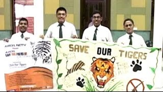 World Tiger Day: Art competition - NDTV