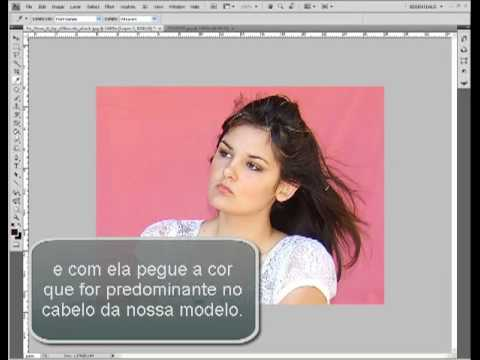 Tutorial como recortar cabelo no photoshop por Marcelo Cabral
