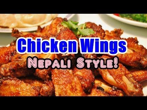 Delicious Deep Fried Chicken Wings Recipe - Nepali Style!