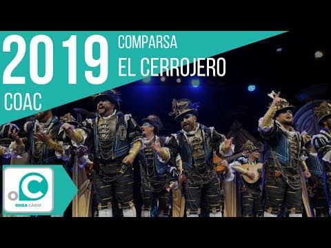 La agrupación El cerrojero llega al COAC 2019 en la modalidad de Comparsas. En años anteriores (2018) concursaron en el Teatro Falla como El rincón del duende, consiguiendo una clasificación en el concurso de Cuartos de final.