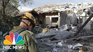 Israel Says 7 Wounded After Rocket Fired From Gaza Destroys House | NBC News - NBCNEWS