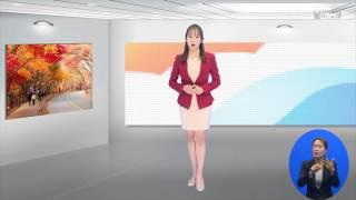 (수화방송) 날씨온뉴스_10월 1째주