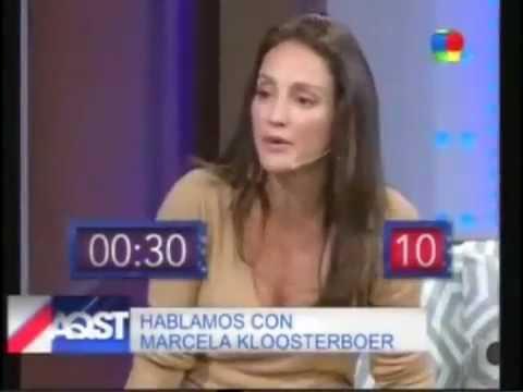 Eleonora Wexler juega con Marcela Kloosterboer a ''Decime la Palabra''
