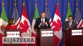 US seeks lower trade deficit in NAFTA talks - ALJAZEERAENGLISH