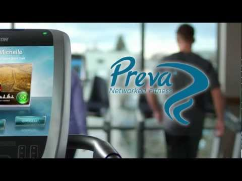 Preva Networked Fitness for Exercisers