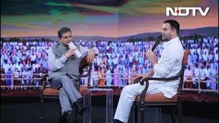 #NDTVYuva - My Sources Say Nitish Kumar Is Angling To Flip Again: Tejashwi Yadav - NDTV
