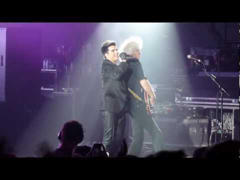 I Want To Break Free - Queen + Adam Lambert - HMV Hammersmith Apollo - Wednesday, 11th July 2012